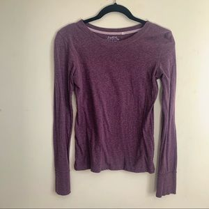 Long Sleeved Purple T-shirt size medium